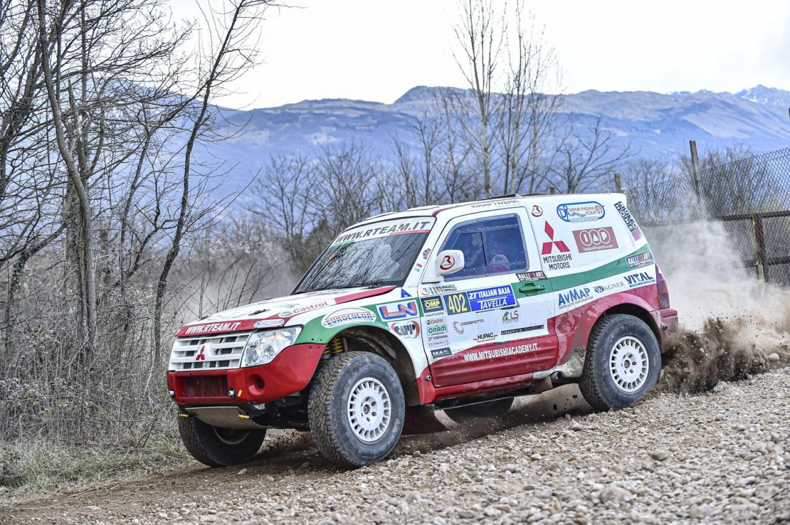 Mitsubishi Pajero WRC T1 - 2