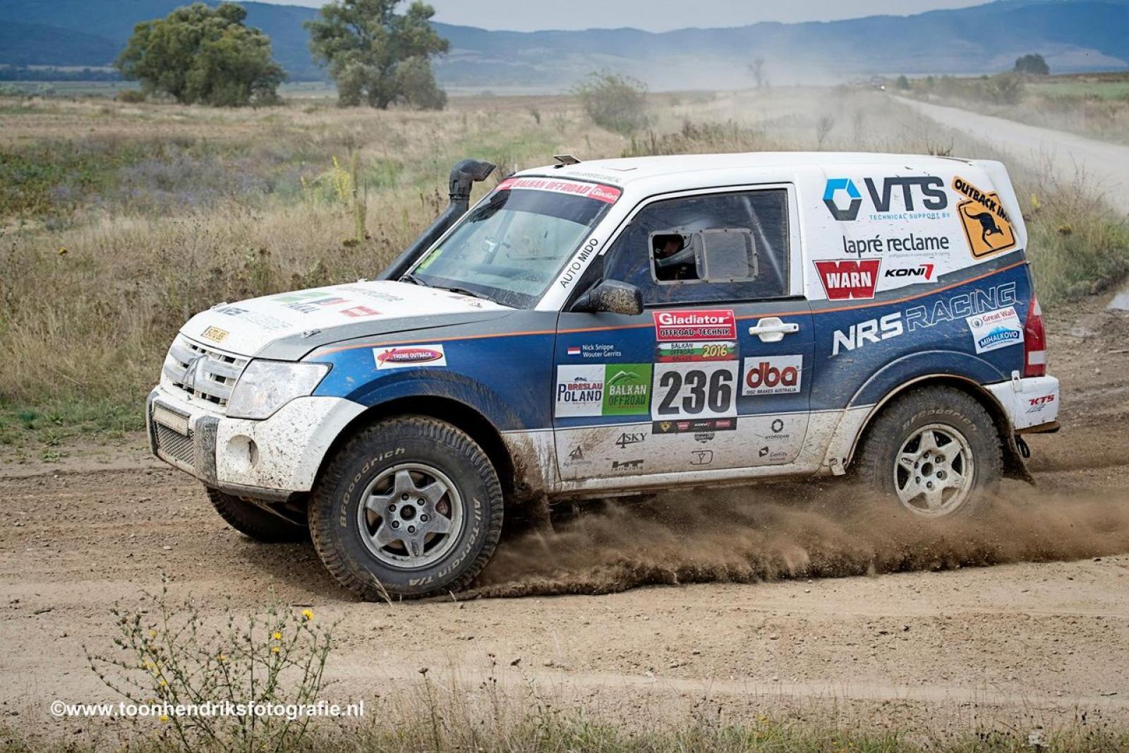 Mitsubishi Pajero T1 Rally raid - 1