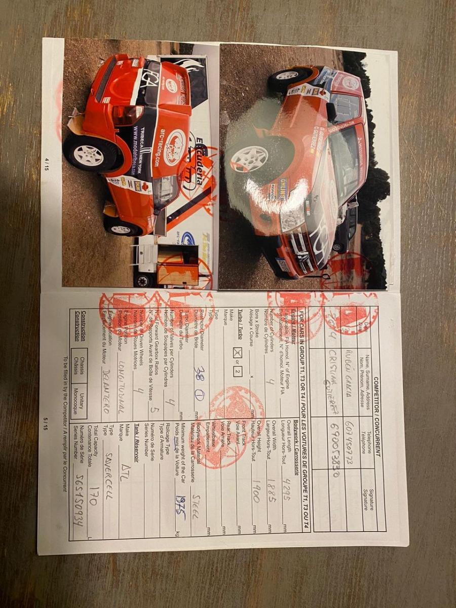 Mitsubishi Pajero T1 Rally raid - 6
