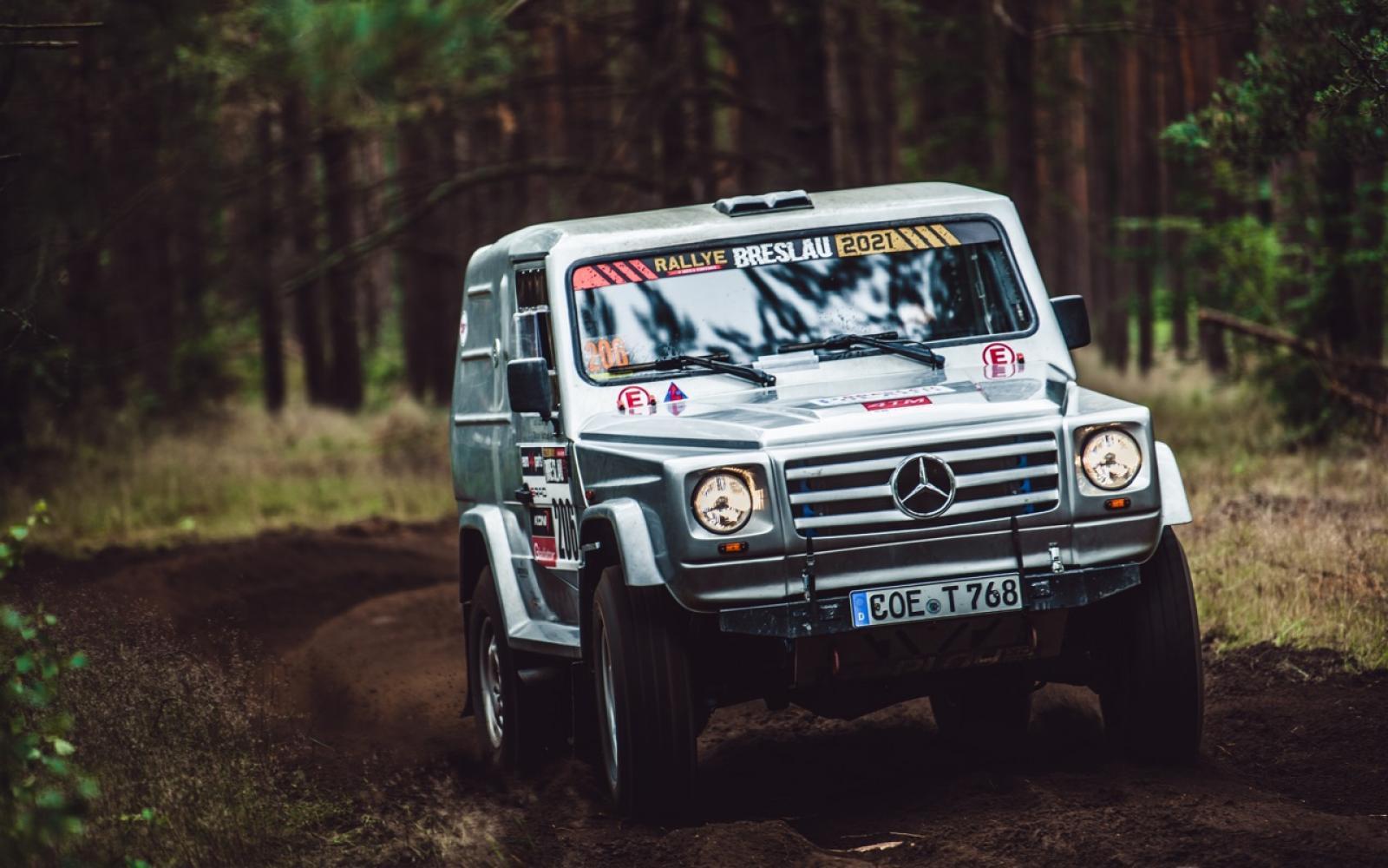 Mercedes G500 Rally raid - 1