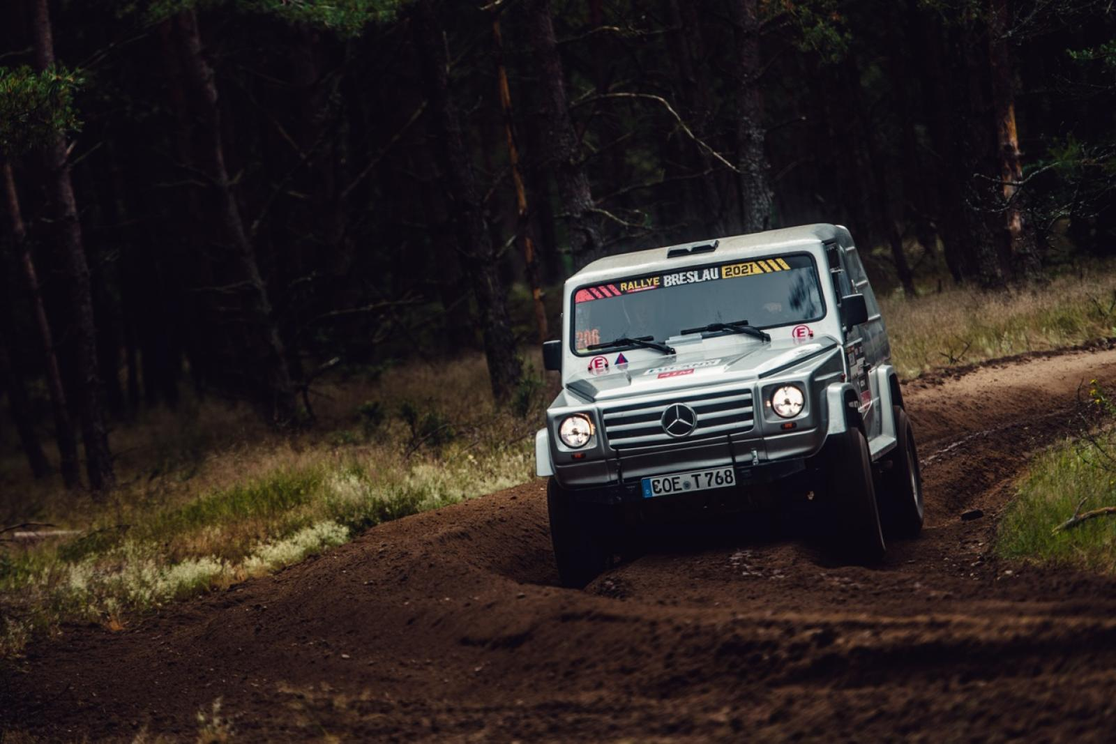 Mercedes G500 Rally raid - 2