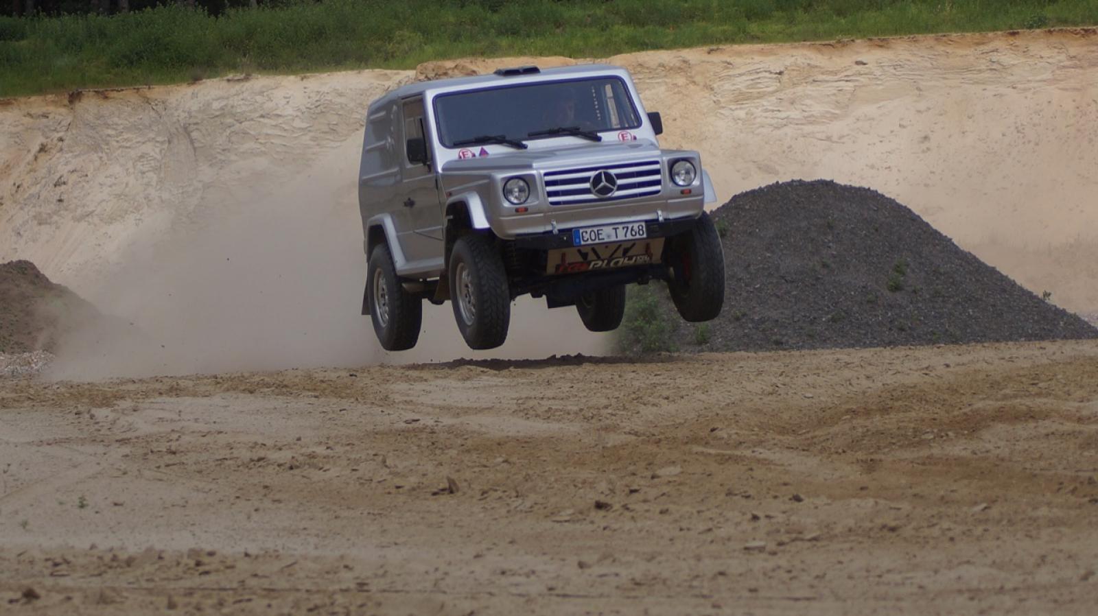 Mercedes G500 Rally raid - 5