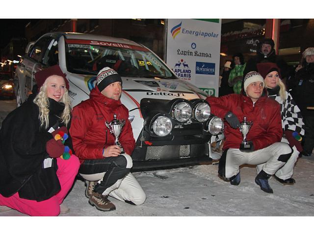 Kompletan Rally iskustvo Arctic Rally 2018 - 2