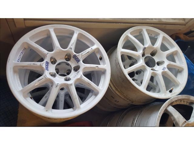 MINI / BMW Rallycross / Rally tarmac rims 16pc Wheels & tyres Finland